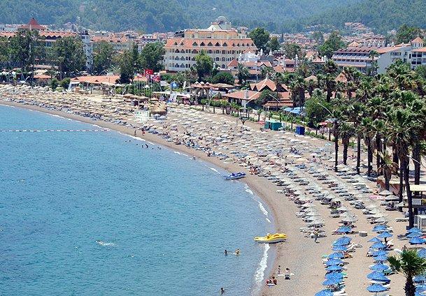 marmaris plajları