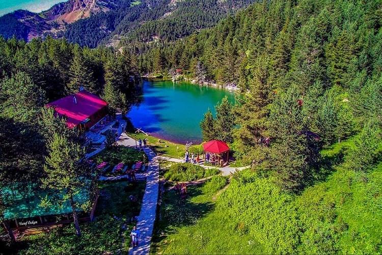 limli gölü gümüşhane