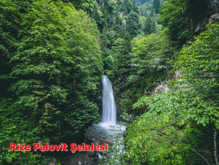 Rize'nin Palovit Şelalesi