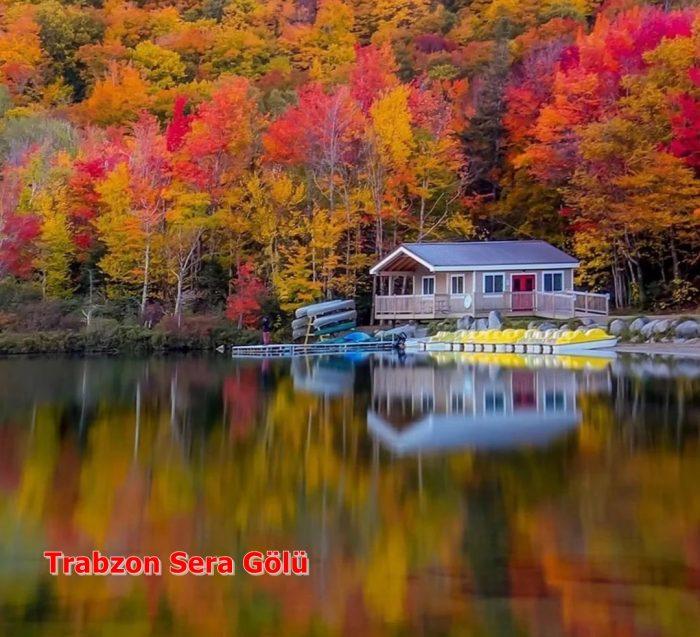 Trabzon'un Sera Gölü